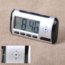 Mini Spy Camera Alarm Clock Video Recorder Hidden Nanny Cam DVR Motion Detection