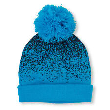 Boys Digital Dot Pom Pom Beanie HAT size L/XL (8+YR)