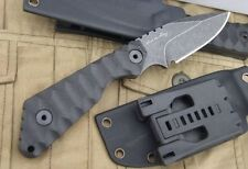 "US Military Utility Tactical Heavy Duty Hunting Bowie 8"" Knife w/ Kydex Sheath"