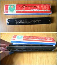 ANTICA ARMONICA BLESSING MADE IN CHINA HARMONICA STRUMENTO MUSICALE con SCATOLA