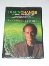 $60 NEW DVD - BRAIN CHANGE with David Perlmutter MD Extended Edition