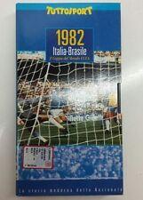 1982 Italia-Brasile 3-2 3a Coppa del Mondo FIFA Tuttosport VHS USATA come nuova