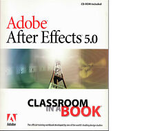 Adobe After Effects 5.0 - Classroom in a book - Eng. + CD-Rom
