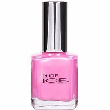 1 Pure Ice Peony 796 Nail Polish BARI FingerNail Polish SHIMMER FROST PINK COLOR