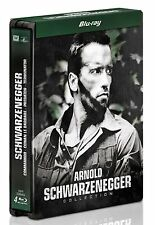 Arnold Schwarzenegger Collection - Limited Edition Blu-Ray Steelbook - 4 Discs -
