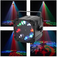 FREE CLAMP Equinox Crossfire 8x3w RGBW LED Sweeping Gobo DMX DJ Lighting Effect