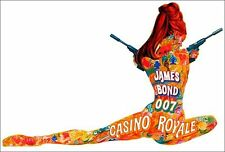 Casino Royale 1967 Original Movie Gigantic Art Silk Poster 24x36inch