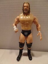 """WWE Jakks Pacific TRIPLE H 7"""" Wrestling Action Figure Ruthless Aggression 2003"""