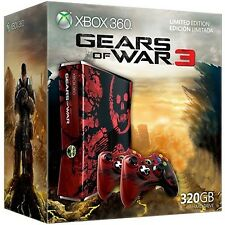Xbox360 320GB Console (PAL) Gear of War 3 Version