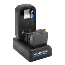 Gopro Hero 5/4/Smart Wifi Remote Triple Charger