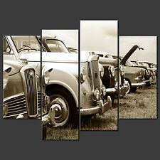 CLASSIC CARS CANVAS WALL ART PICTURES PRINTS LARGER SIZES AVAILABLE