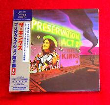 KINKS Preservation Act 2 JAPAN SHM MINI LP CD VICP-70007