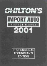 Chilton's Import Car Service Manual: 1997-2001 (Chilton's Import Auto -ExLibrary