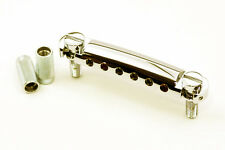 NEW Tone Pros T1Z-N LOCKING TAILPIECE for Gibson Les Paul Metric Thread Nickel