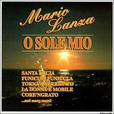 O SOLE MIO BY MARIO LANZA (CD, Apr-1995, Madacy)