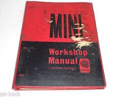 Workshop Manual Werkstatthandbuch BMC Mini / Mini Cooper / S Ausg.1960er Jahre