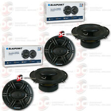 4 x BRAND NEW BLAUPUNKT 6.5-INCH 4-WAY CAR AUDIO COAXIAL SPEAKERS 6-1/2""