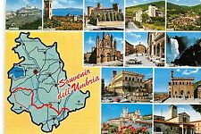 BR4534 Umbria map cartes geographiques  italy