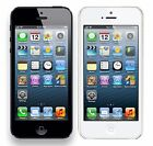 Apple iPhone 5 32GB iOS Factory Unlocked 4G LTE Black and White Smartphone