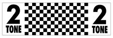 2 TONE Ska Cool Music - 200mm CAR, VAN STICKER