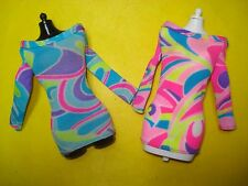 Vtg Barbie 80s Doll Clothes Lot TOTALLY HAIR (Whitney) DRESS x2 1991 riginal