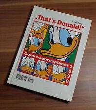 """Walt Disneys """"That's Donald!"""", Comic-Jahresplaner 1996 unbenutzt TOP ZUSTAND!"""