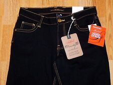NWT SOUTHPOLE FREESTYLE LOW RISE BOOT CUT BLACK JEANS JUNIOR'S SIZE 9 MSRP $42.