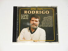 Rodrigo - CD - O Fado Que Eu Canto - Movieplay SO 3011 - Portugal