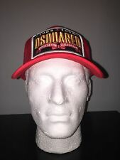 ****2017 NEW Dsquared2 RED MESH Baseball Cap***Limited Edition RARE 2017 Stock