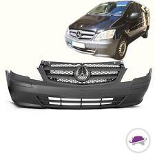 Mercedes Vito W639 Stoßstange vorne Mopf 10-14 inkl.Leisten Kühlergrill GRAU