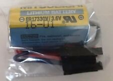 Brand New Mitsubishi MR-BAT ER17330V Battery Size 2/3A 3.6V