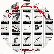 Small Arms in Profile 22 Vol CD Gun Gunsmithing WWI WWII Pistols Firearms