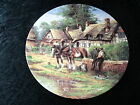 """Collectors Plate - Wedgwood Country Days Series - """"Lunch Break"""""""