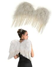 Adult Women's White Feather Costume Angel Accessory Wings