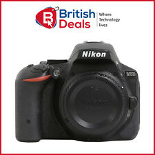 Nikon D5500 24.2 MP CMOS WiFi Digital SLR Camera Body Black