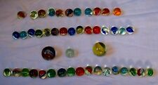Vintage Collection of Vintage 1950's  (46)  Cat's Eye Marbles
