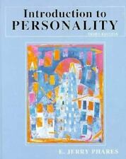 Introduction to Personality by E. Jerry Phares (1997, Paperback)