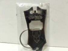 NIB Sealed D'Angelico Guitars New York Bottle Opener Key Ring FS