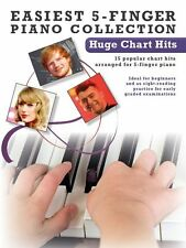 Easiest 5-Finger Piano Huge Chart Hits ONE DIRECTION LABRINTH EASY Music Book