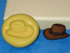 Cowboy Hat Silicone Push Mold A358 For Polymer clay Resin Isomalt Chocolate