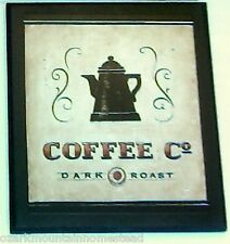 Coffee Shop Plaque Kitchen wall decor picture bistro cafe caffe sign bistro