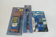 Jeff Gordon #24 Air Freshener Tire Gauge Dental Floss Dupont Flames Hendrick NEW