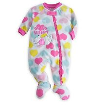 Disney Store Authentic Winnie the Pooh Baby Soft One Piece Pajamas 18-24 Months
