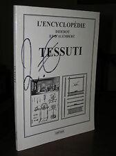 C056_Raccolta di tavole L'ENCYCLOPEDIE DIDEROT ET D'ALEMBERT, TESSUTI - 2002