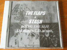The Flaps & Stash. Doing the Split. Ltd Edition CD Promo. Leicester Punk Bands.