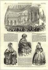 1853 Banquet In Honour Of Mrs Stowe Music Hall Edinburgh