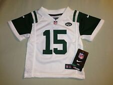 NWT NFL JETS TEBOW JERSEY SZ 12 MONTHS WHITE GREEN AUTHENTIC