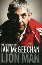 IAN McGEECHAN SCOTLAND BRITISH LIONS RUGBY AUTOBIOGRAPHY BOOK 2009 LION MAN
