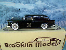 1/43 Brooklin models  Chevrolet nomad van 1955 BRK 26x  white metal
