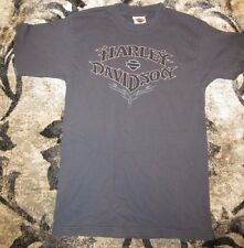 Harley Davidson Thermal T-Shirt Short Sleeve Grey Large H.D. of Jackson MS.